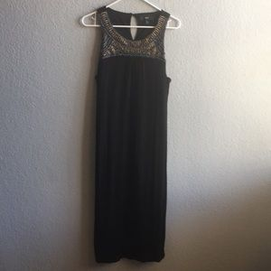 Cute Beaded maxi dress size extra large